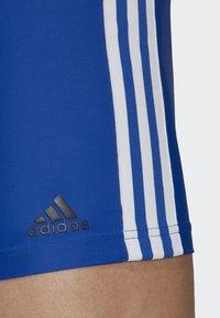 adidas Performance - FIT BOXERS 3 STRIPES PRIMEBLUE BOXER SWIM TRUNKS - Badebukser - blue/white - 4