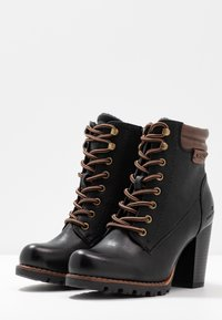TOM TAILOR - Ankle boots - black - 4