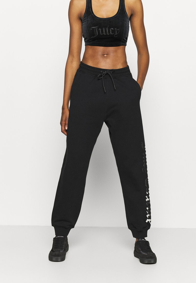 Juicy Couture - IVY - Tracksuit bottoms - black