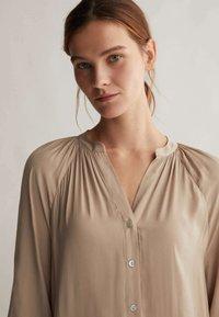 OYSHO - Shirt dress - beige - 4