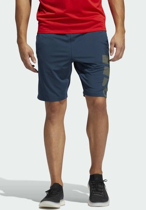 4KRFT SPORT GRAPHIC SHORTS - Sports shorts - blue