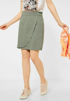 Wrap skirt - grün