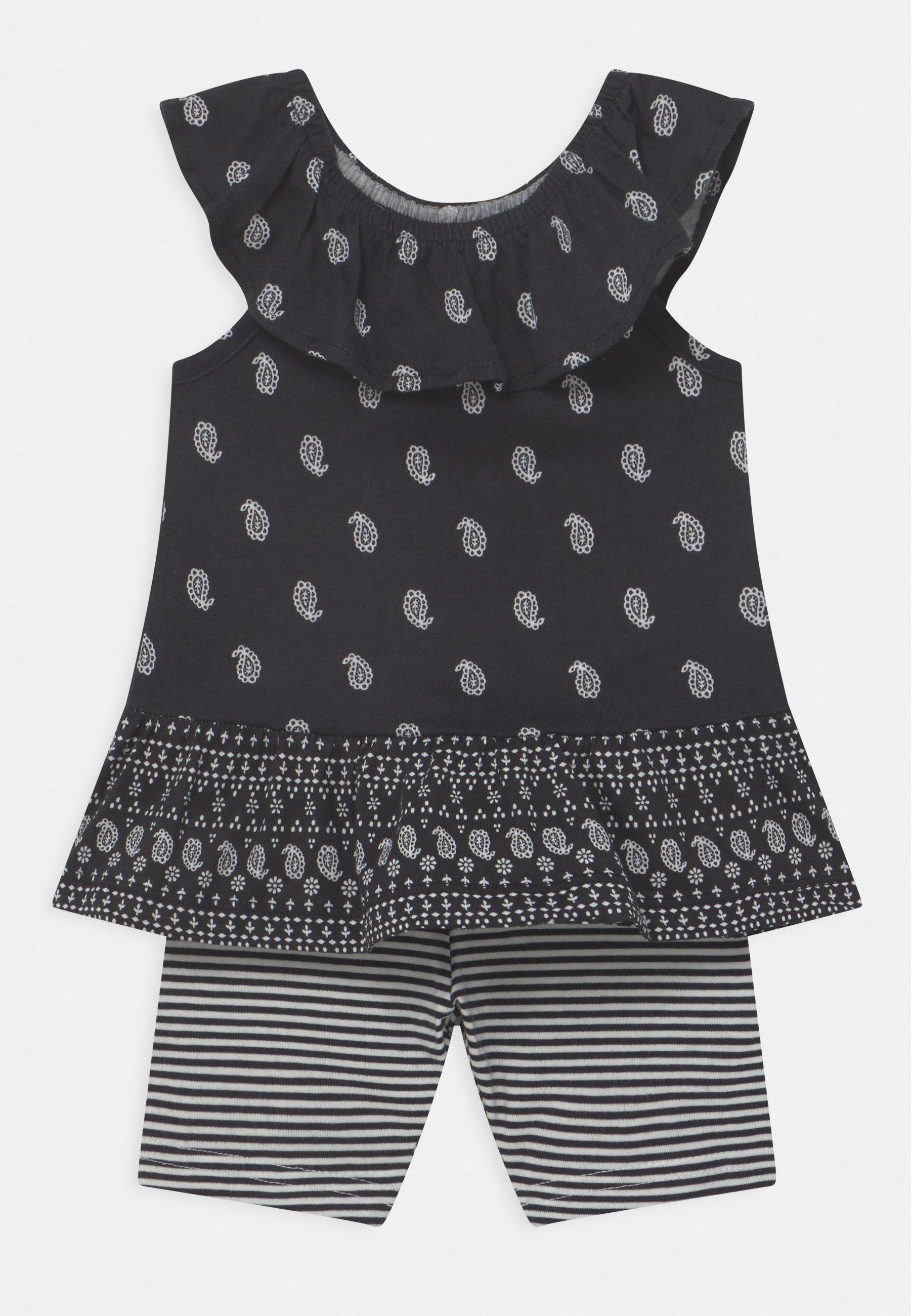 Niño 2-Piece Paisley Jersey Tee & Bike Short Set - Shorts