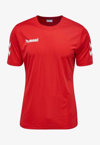 CORE - Print T-shirt - true red