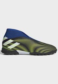 adidas Performance - NEMEZIZ.3 LACELESS TF FUSSBALLSCHUH - Astro turf trainers - black - 7