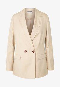 NAF NAF - EHILDA - Krátký kabát - lin - 3