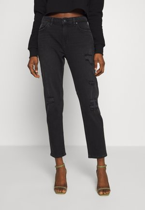 ELIANA - Relaxed fit jeans - great black wash