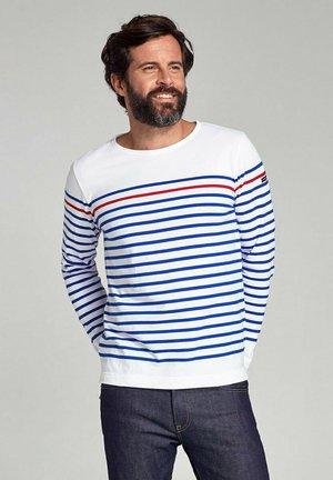 REMPART MARINIÈRE - T-shirt à manches longues - blanc  étoile   braise