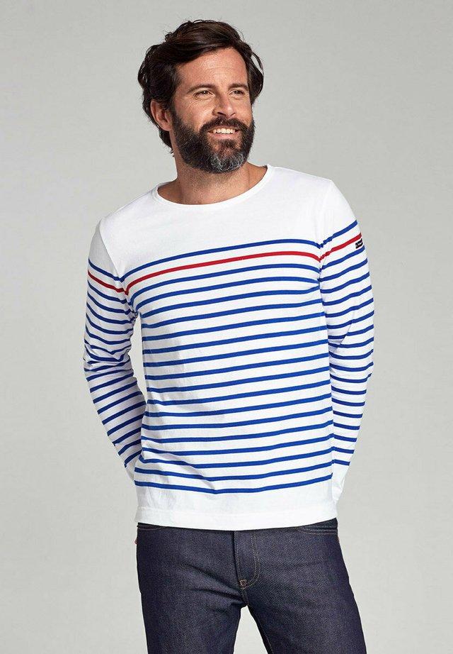REMPART - T-shirt à manches longues - blanc  étoile   braise