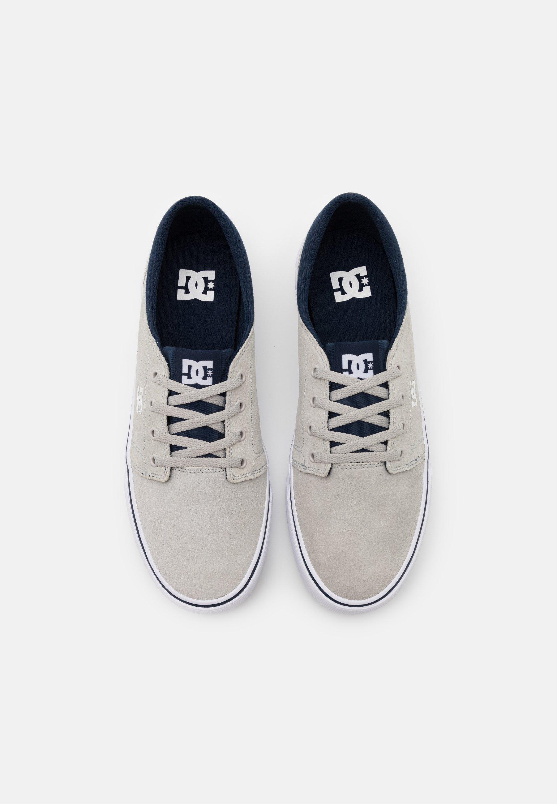 DC Shoes TRASE - Joggesko - grey/white