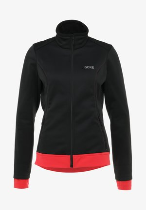 THERMO  - Softshelljacke - black/hibiscus pink