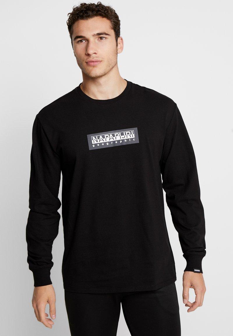 Napapijri The Tribe - SOX - Langærmede T-shirts - black