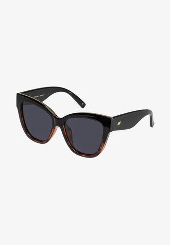 LE VACANZE - Sunglasses - black tort splice / gold