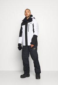 Oakley - Snowboard jacket - black/white - 1