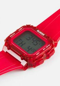 Guess - UNISEX - Digitální hodinky - red - 3