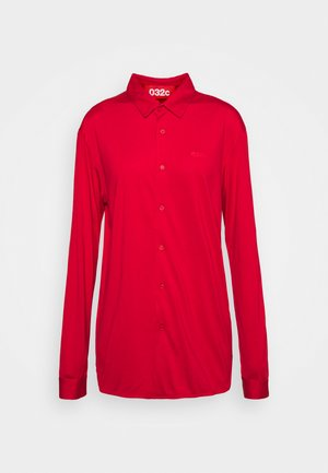 BUTTON UP SHIRT - Blouse - red