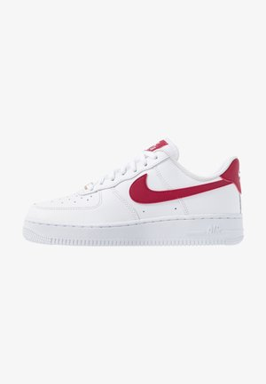 AIR FORCE 1 - Zapatillas - white/noble red