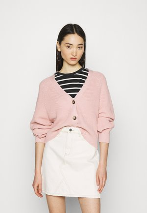 ZETA CARDIGAN - Strickjacke - light pink
