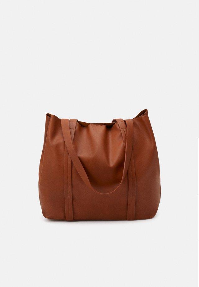 ONLLANA SHOPPER - Shopping bag - cognac
