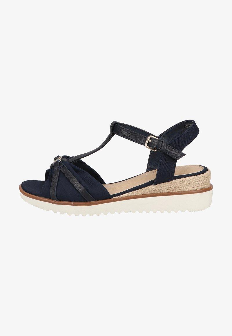 TOM TAILOR - Sandals - navy