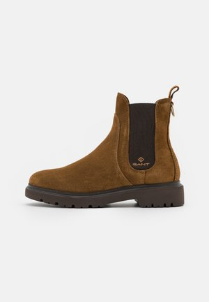 MALINCA - Classic ankle boots - tobacco brown