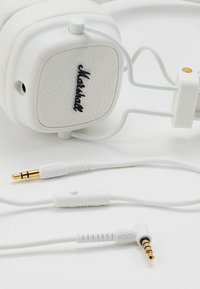 Marshall - MAJOR III EIN-TASTEN-FERNBEDIENUNG MIT MIKROFON - Headphones - white - 5