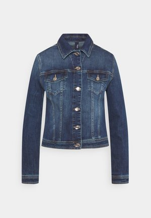 GIUBBINO RIDER - Denim jacket - denim blue event wash