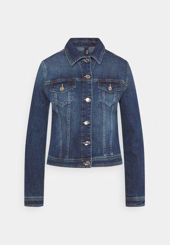 GIUBBINO RIDER - Denim jacket - denim blue event wash