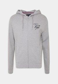 Tommy Hilfiger - HOODIE - Pyjama top - grey - 4