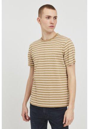 Print T-shirt - breen melange