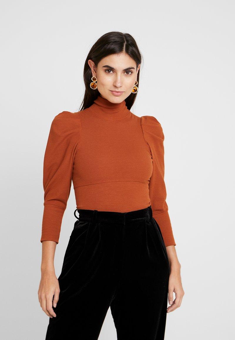 Trendyol - SIYAH - T-shirt à manches longues - cinnamon