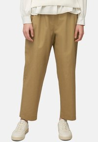 Marc O'Polo DENIM - Trousers - suntanned - 0