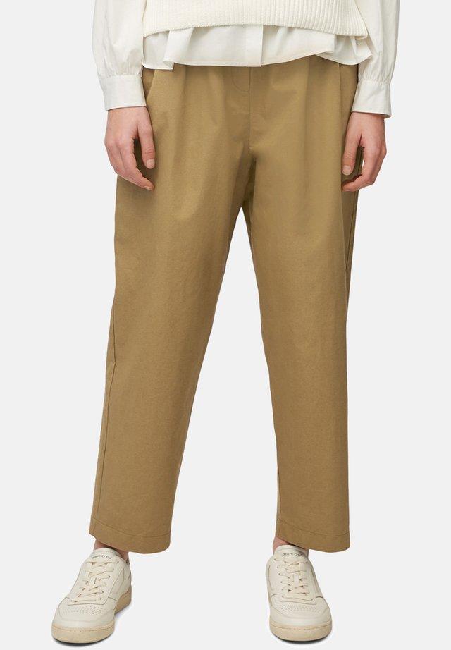 Pantalon classique - suntanned