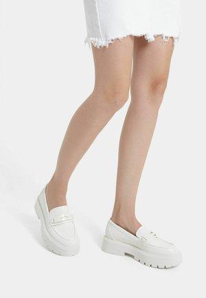 MOKASINS - Slip-ons - white