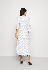 Closet - CLOSET HIGH LOW WRAP DRESS - Day dress - white - 2