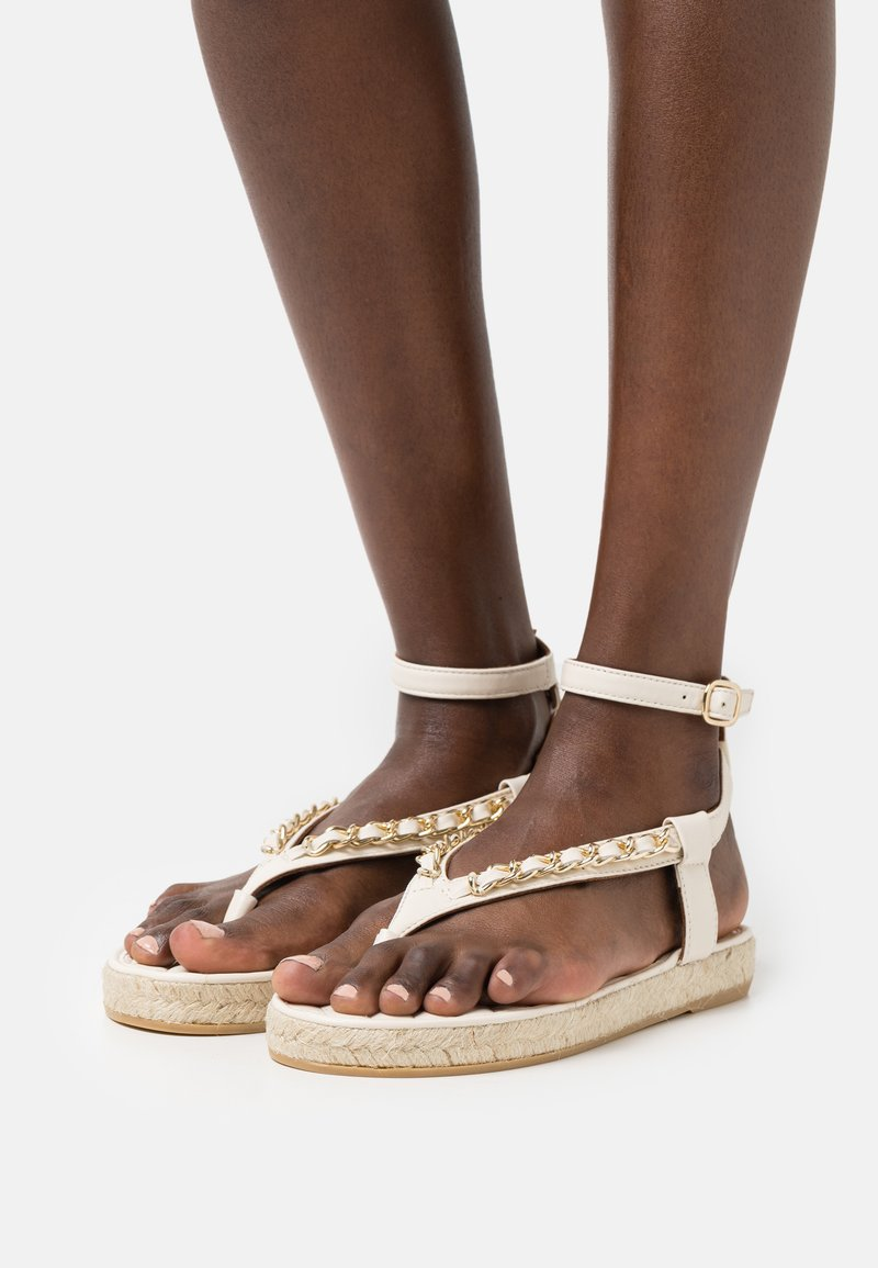 Billi Bi - Sandály s odděleným palcem - offwhite