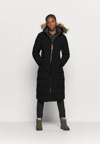 Icepeak - BRILON - Winter coat - black - 1
