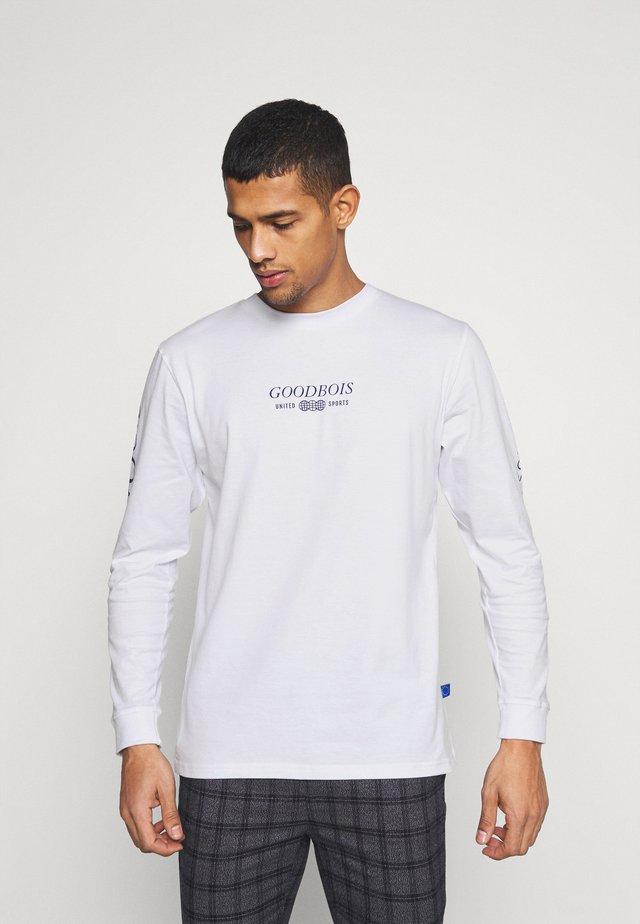 TRADEMARK LONGSLEEVE - Langærmede T-shirts - white