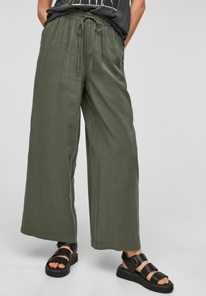 LOOSE FIT - Trousers - khaki