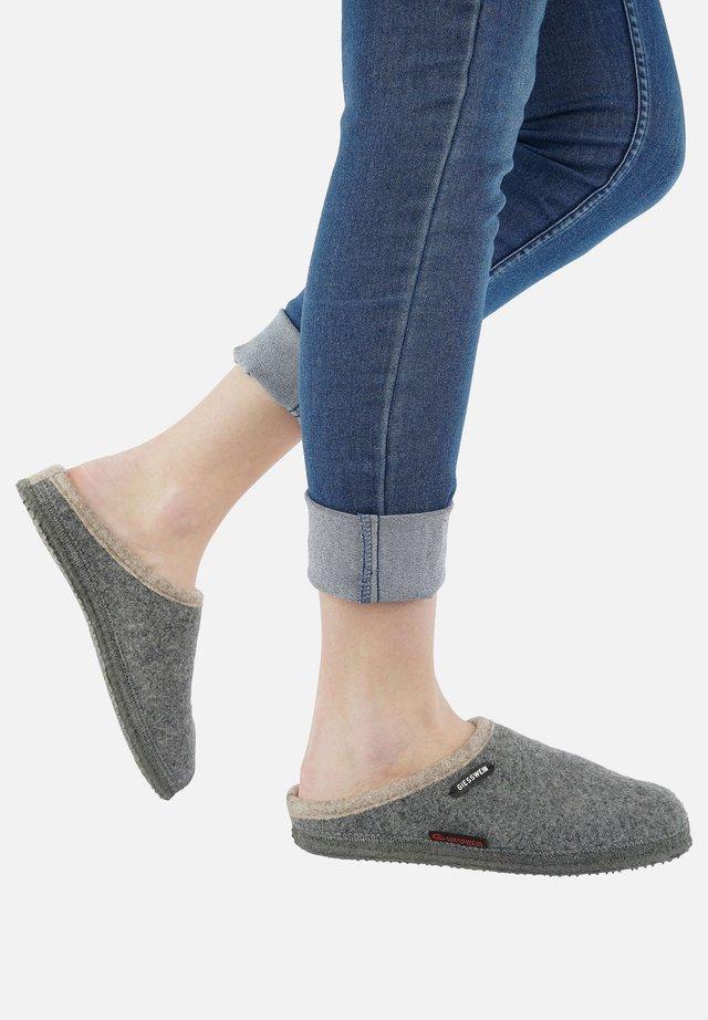 DANNHEIM - Chaussons - mottled grey