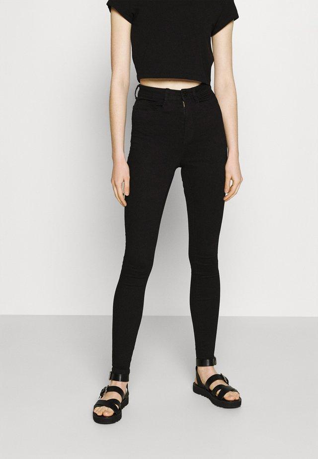 NMAGNES  - Jeans Skinny Fit - black