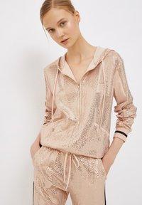 Liu Jo Jeans - Zip-up sweatshirt - peach - 0