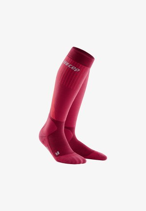 COLD WEATHER COMPRESSION SOCKS  - Sports socks - red
