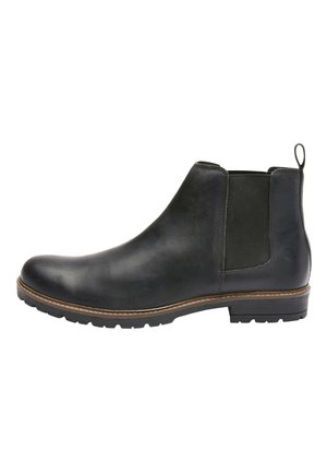 BLACK CHELSEA BOOTS - Classic ankle boots - black