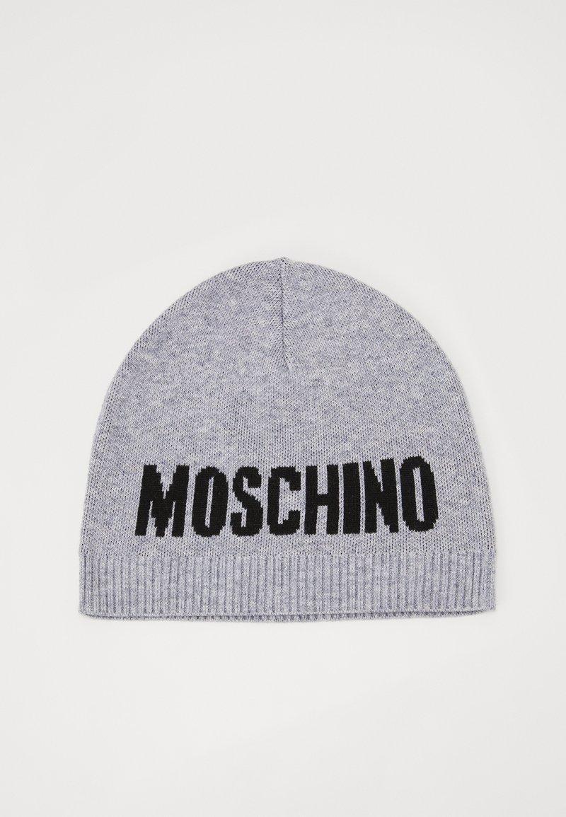 MOSCHINO - HAT UNISEX - Berretto - grey melange