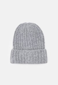 Pieces - PCPYRON STRUCTURED HOOD  - Beanie - light grey - 0