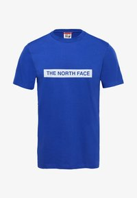 The North Face - M S/S LIGHT TEE - T-shirt med print - blue - 2