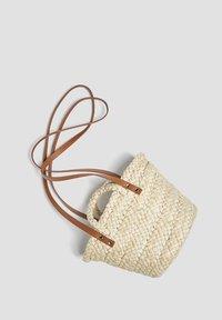 PULL&BEAR - Tote bag - sand - 2