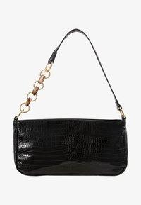 Topshop - SPIN SNAKE SHOULDER - Handbag - black - 5