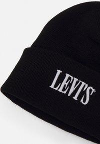 Levi's® - SMALLER SERIF LOGO BEANIE - Bonnet - regular black - 2